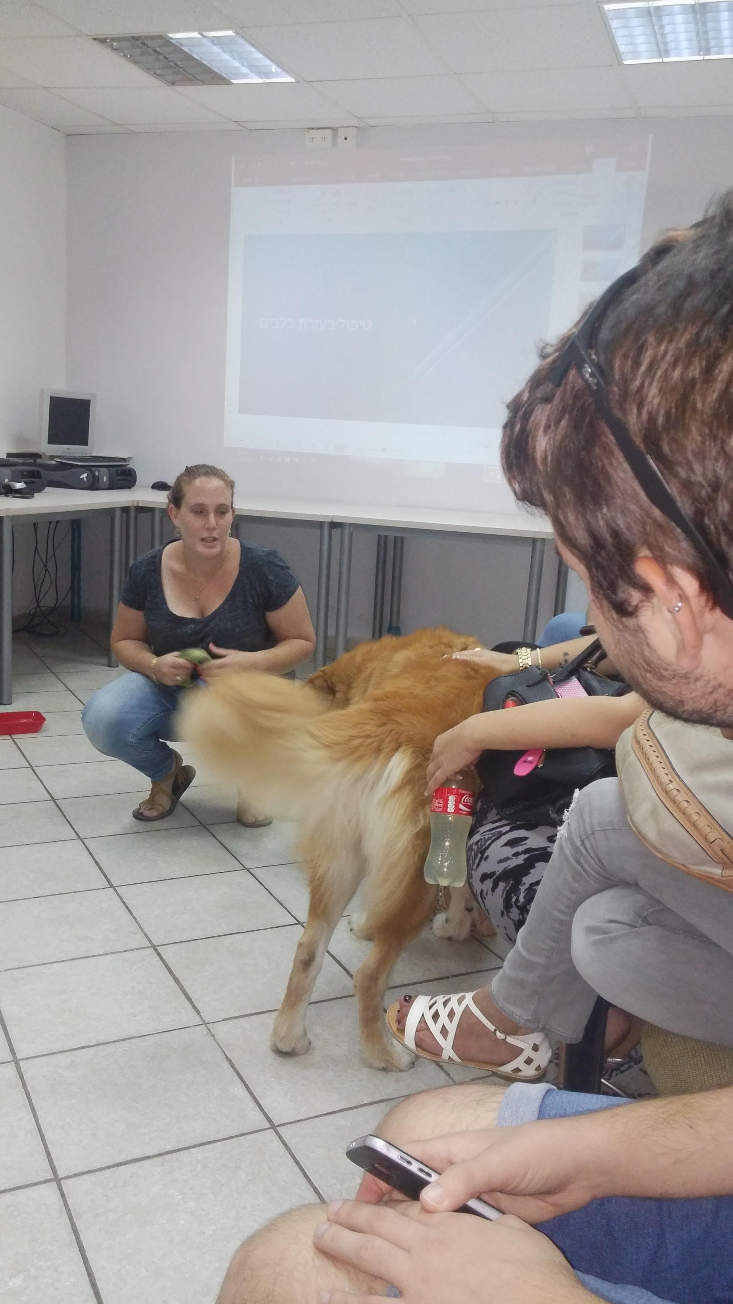 הרצאה בנושא טיפול בבעלי חיים- דיור מוגן בש  (1)