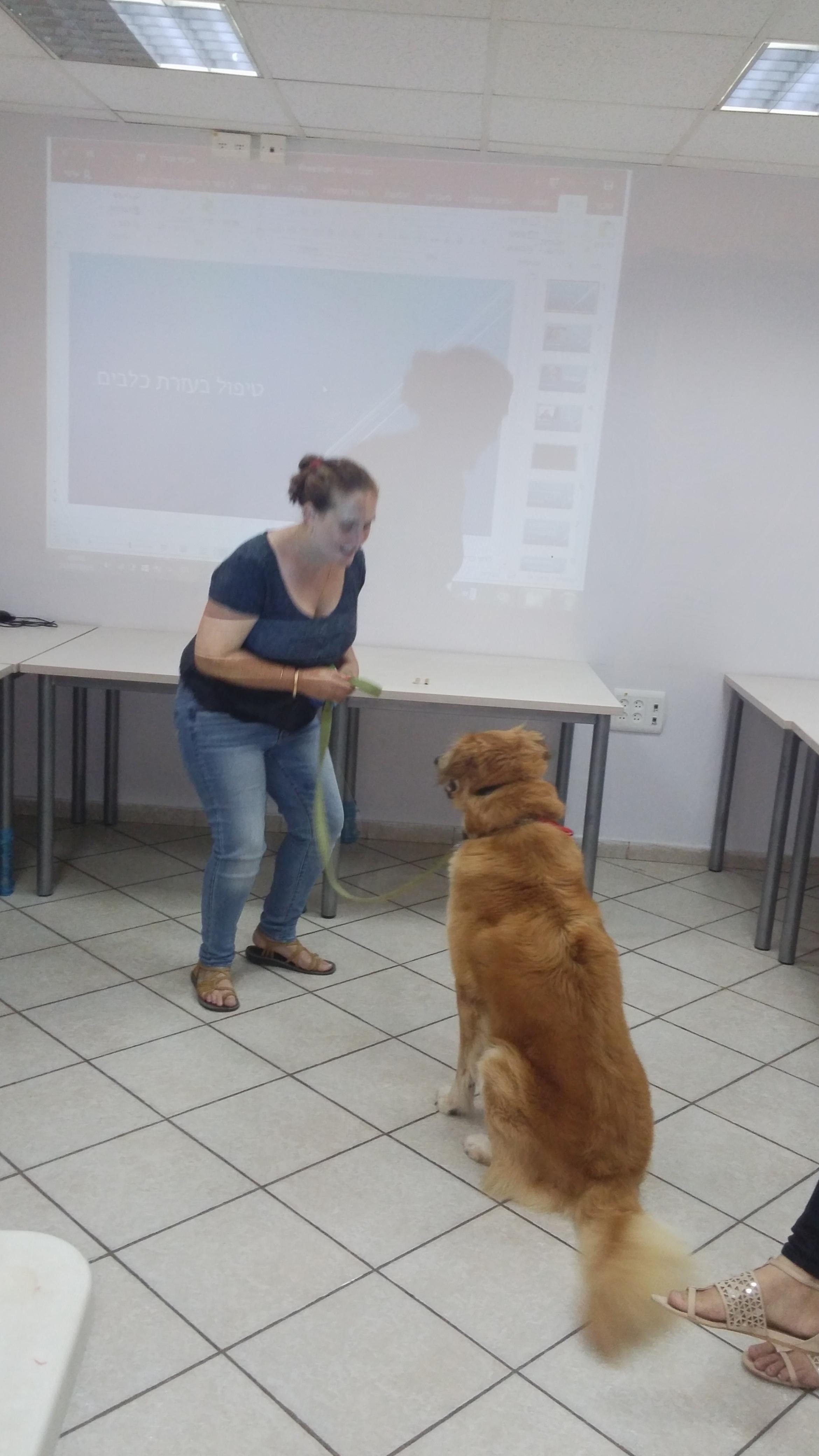 הרצאה בנושא טיפול בבעלי חיים- דיור מוגן בש  (4)