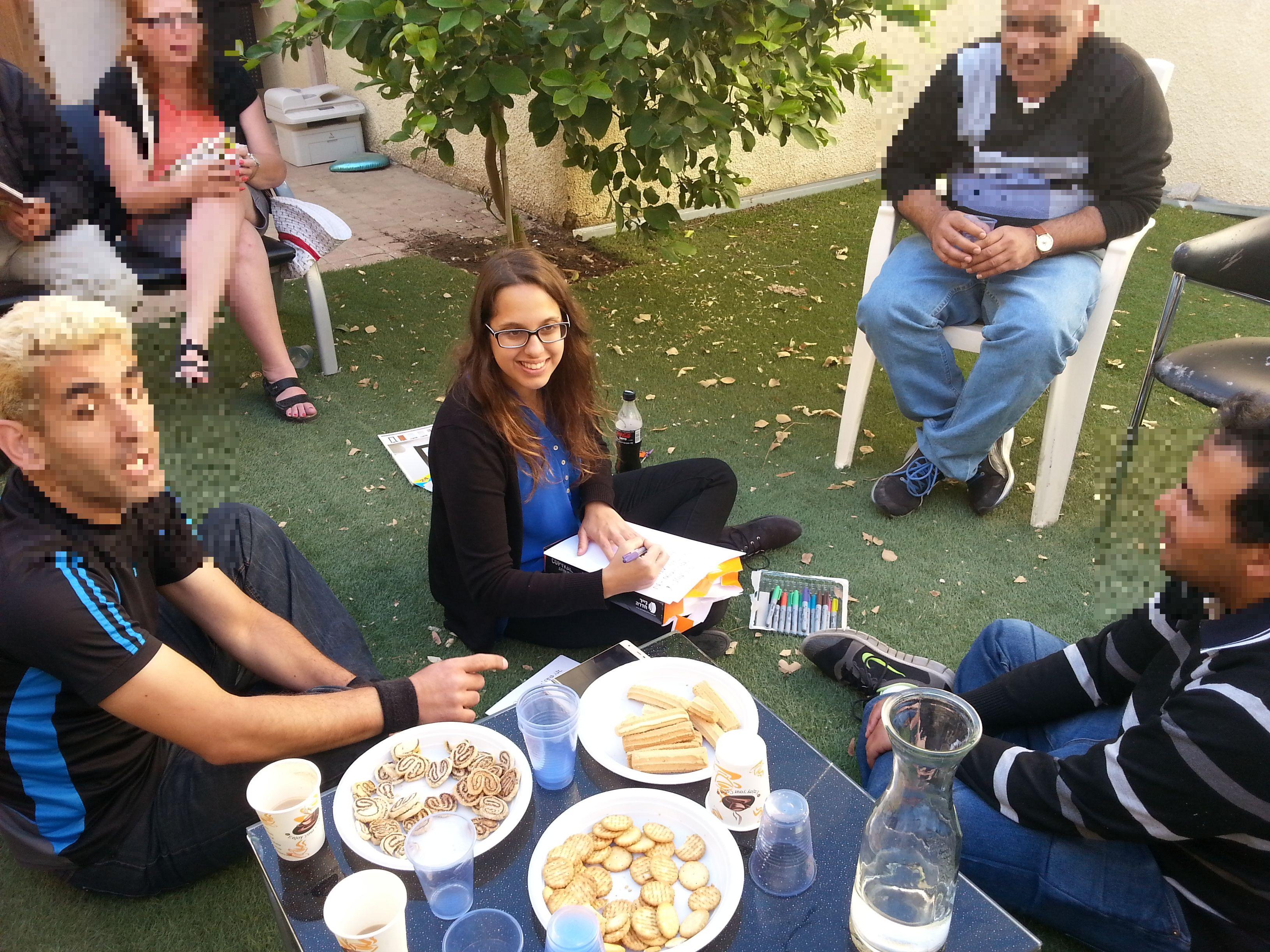 מפגש לקראת שבת דיור מוגן ענבלים (1)