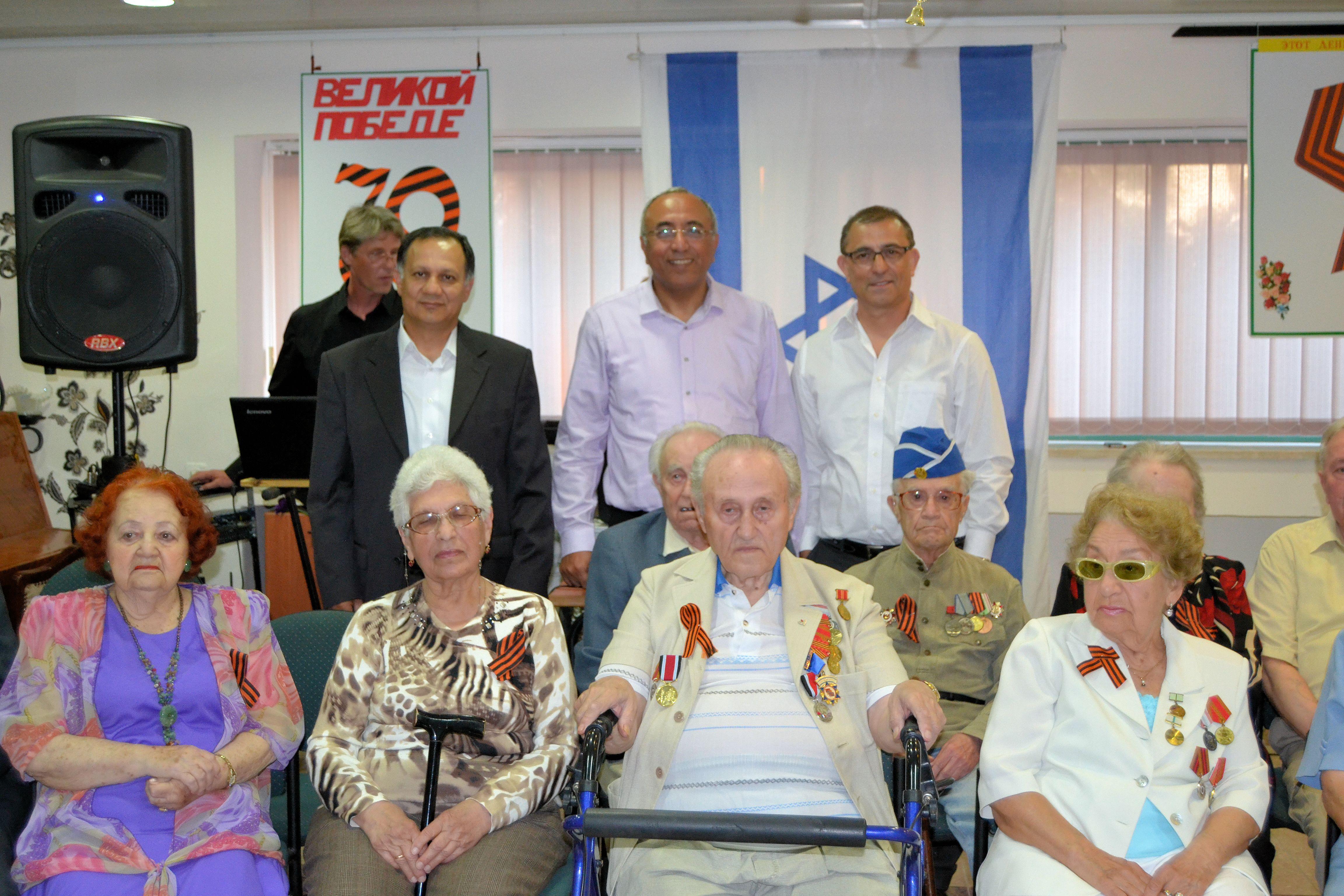 70 שנה ליום הניצחון על הנאצים בדיור בית גיל הזהב בקריית גת (2)