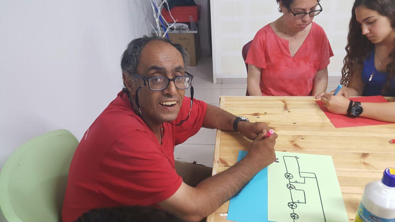 פעילות עם בית ספר בגין- בית אסתר (2)