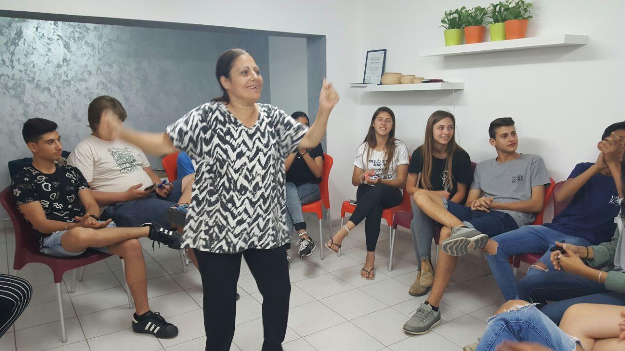 פעילות עם בית ספר בגין- בית אסתר (3)
