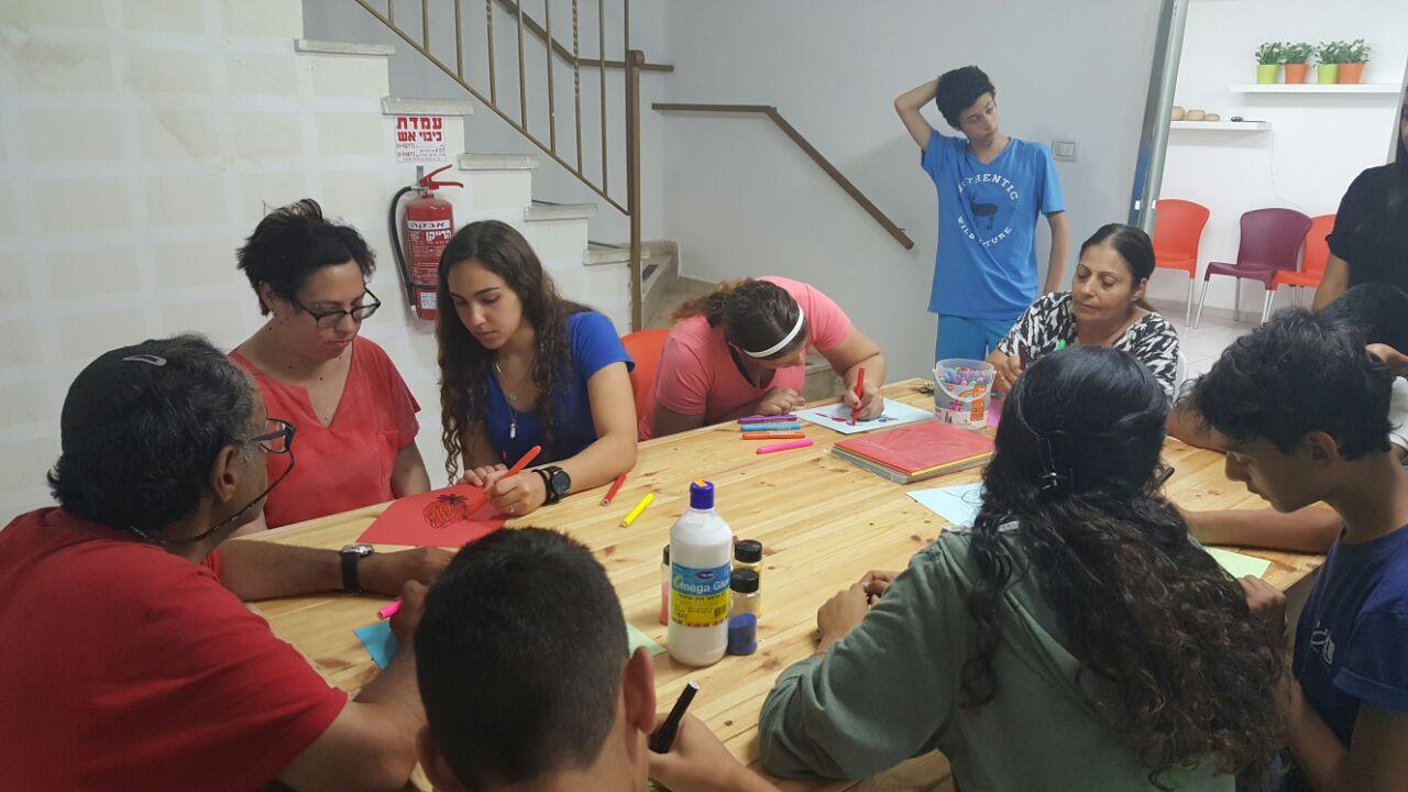 פעילות עם בית ספר בגין- בית אסתר (4)